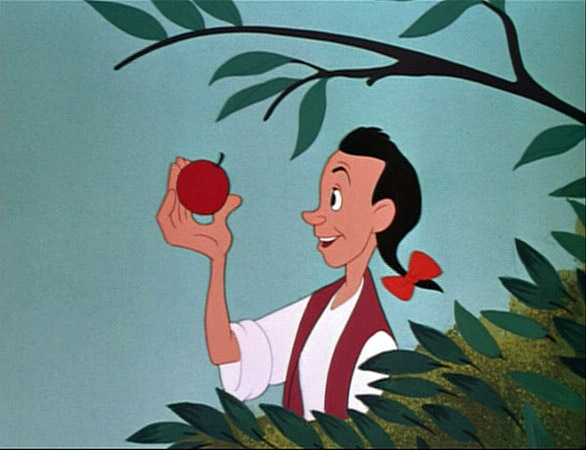 Image result for melody time johnny appleseed